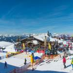 Panoramasicht - CEV Snow Volleyball EM 2018 Wagrain